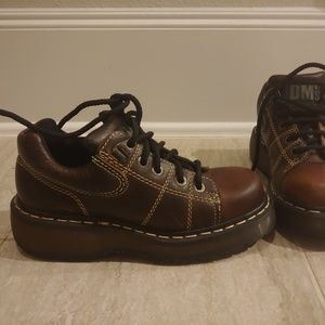 Vintage Dr Marten Oxford shoes Sz 5
